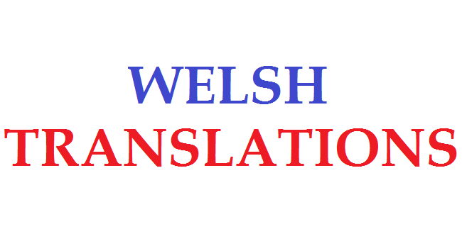 Welsh translation services